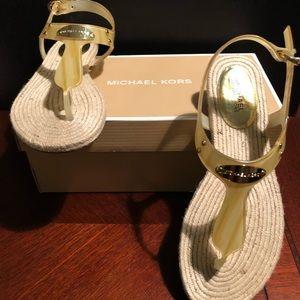 Authentic Michael Kors Thong Sandals